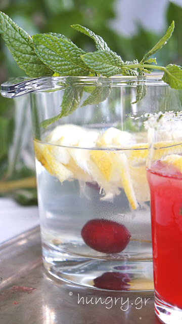 Fresh Cherry Lemonade