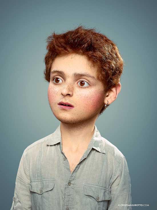 L'Enfant Extérieur by Cristian Girotto Portrait 11