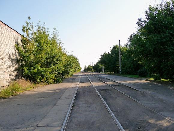 Костянтинівка. Трамвайна лінія без трамваїв