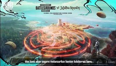 Resmi! Game PUBG Mobile Akan Berkolaborasi Dengan Anime Jujutsu Kaisen