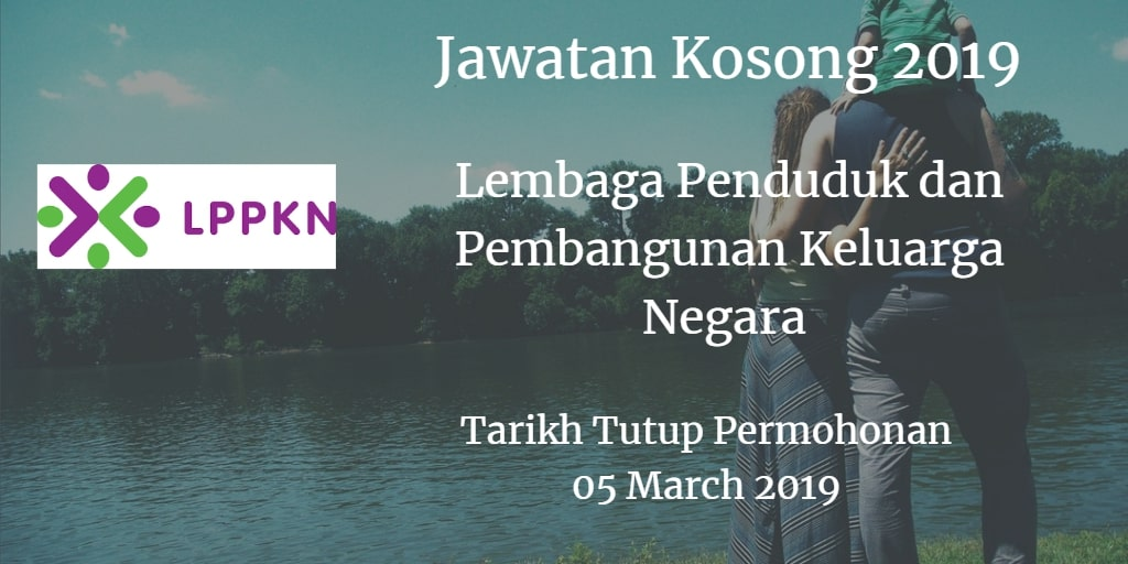 Jawatan Kosong LPPKN 05 March 2019