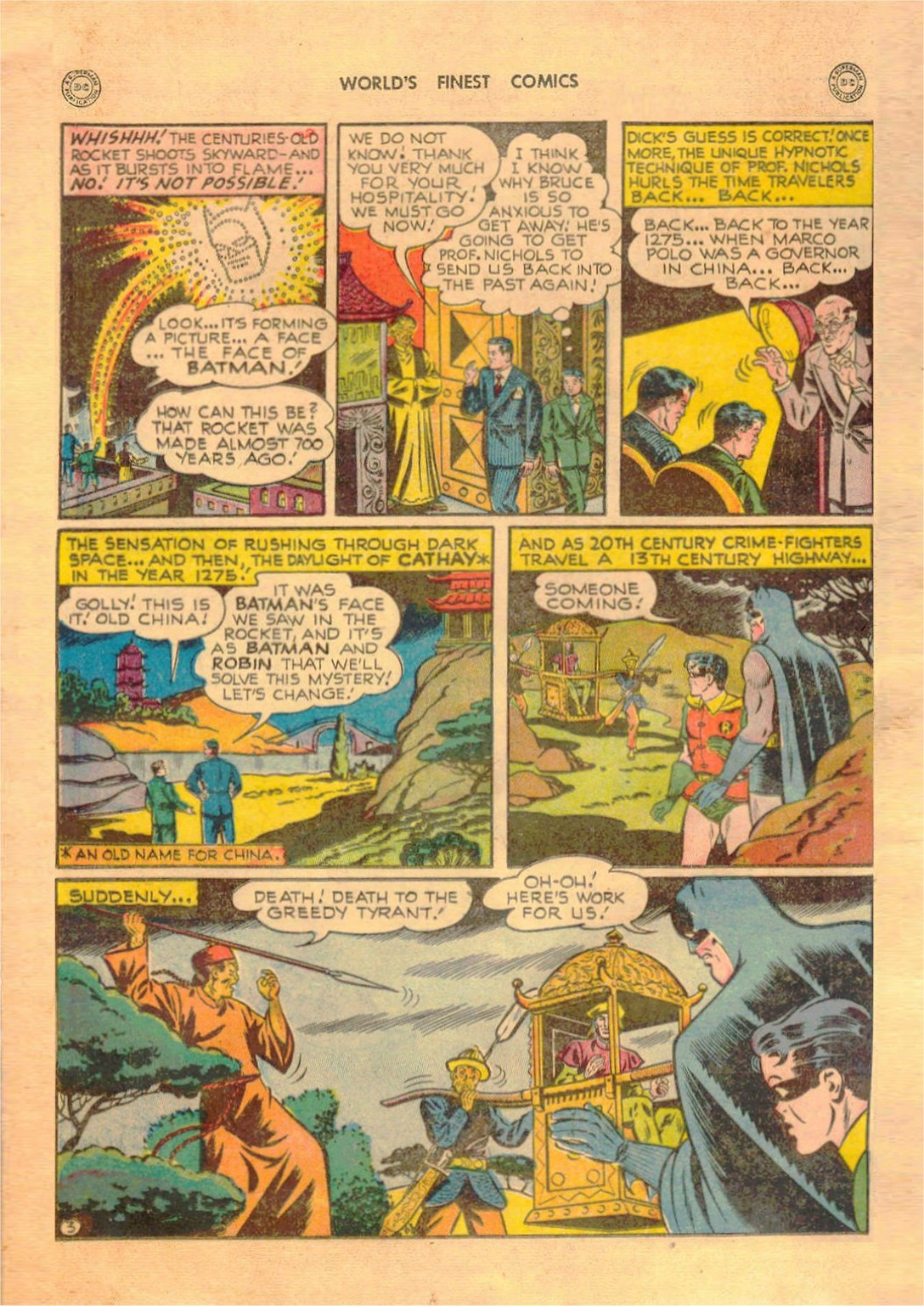 Read online World's Finest Comics comic -  Issue #42 - 64