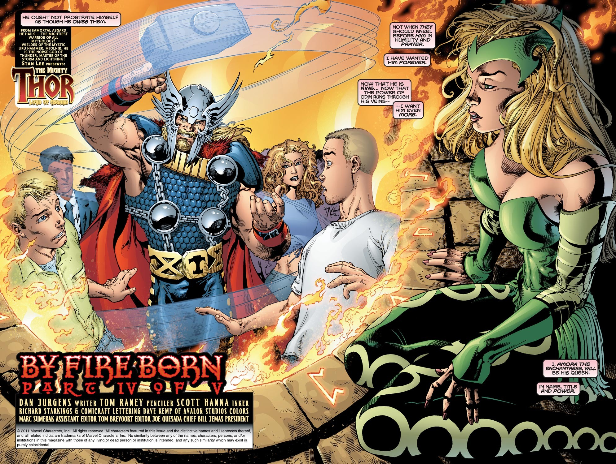 Thor (1998) Issue #49 #50 - English 3
