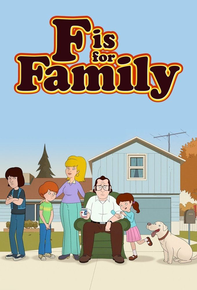 F Is for Family (2015- ) ταινιες online seires oipeirates greek subs