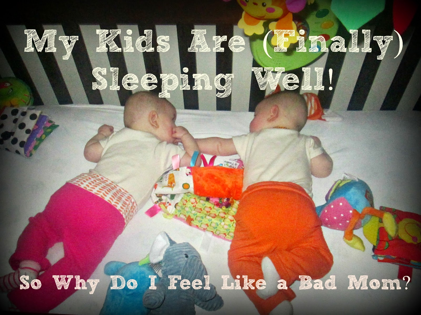 My Kids Are (Finally) Sleeping Well! So Why Do I Feel Like a