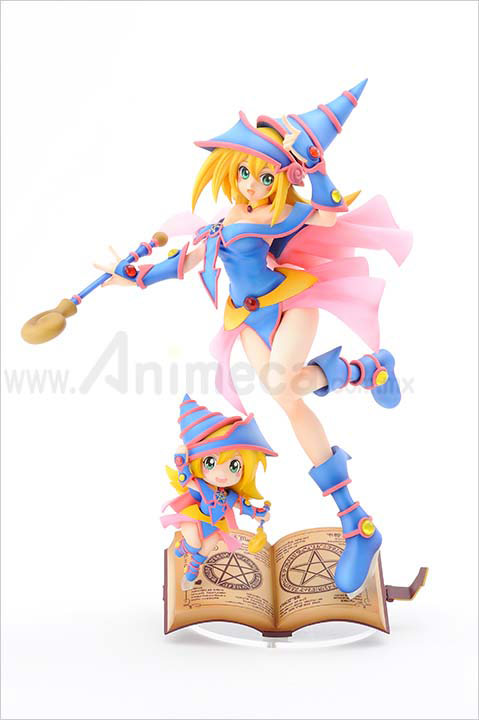 FIGURA BLACK MAGICIAN GIRL with CHIBI BLACK MAGICIAN GIRL EDICIÓN LIMITADA Yu-Gi-Oh! Duel Monsters