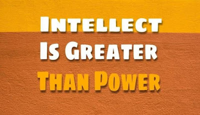 Intellect Is Greater Than Power (Short Stories )