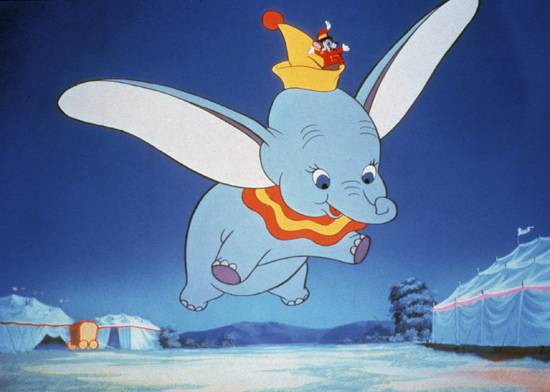 Flying Dumbo 1941 animatedfilmreviews.blogspot.com