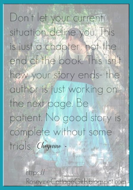 Author of my story, He is the author of my story, My Story, Don't let your situation define you, by Rosevine Cottage Girls photo (c) Rosevine Cottage Girls