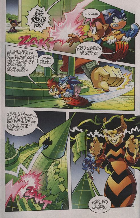 Read online Sonic The Hedgehog comic -  Issue #209 - 9