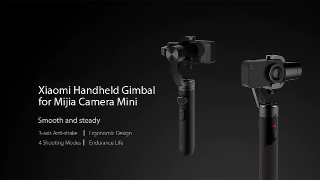 Xiaomi Mi Action Camera Handheld Gimbal 3-axis Stabilization Coupon & Review