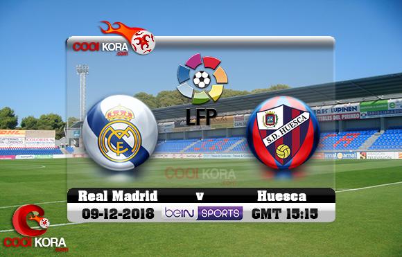 مشاهدة مباراة هويسكا وريال مدريد اليوم 9-12-2018 في الدوري الأسباني