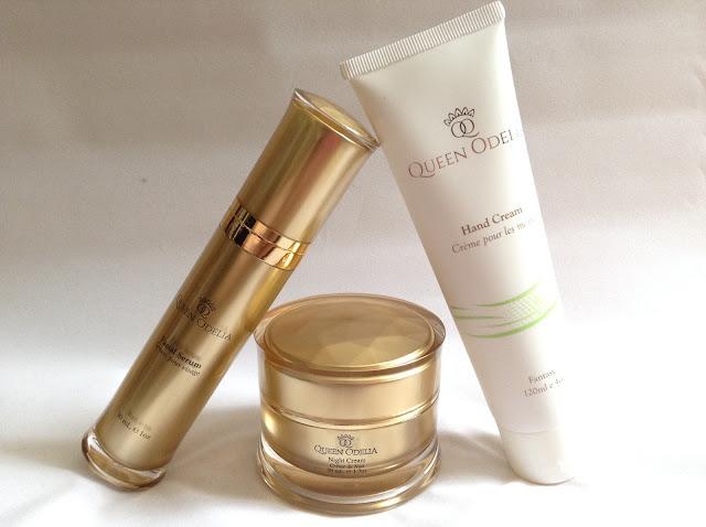 >>更勝堅果油的護膚成份*以色列 Queen Odelia Facial Serum, Night Cream & Hand Cream+限時購物優惠
