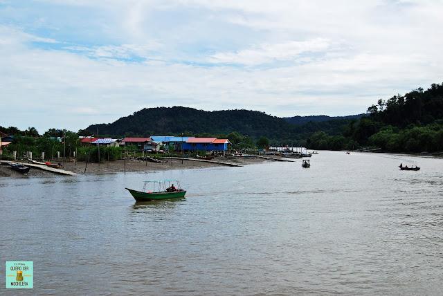 De camino al Parque Nacional de Bako, Borneo