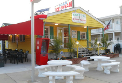 Hassles Ice Cream in North Wildwood New Jersey