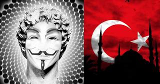 Oι Έλληνες Anonymous επιτέθηκαν στον μυστικό στρατό του Ερντογάν και σε τουρκικές τράπεζες