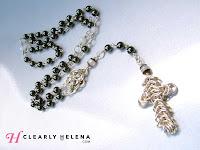 Hematite Moonstone Rosary