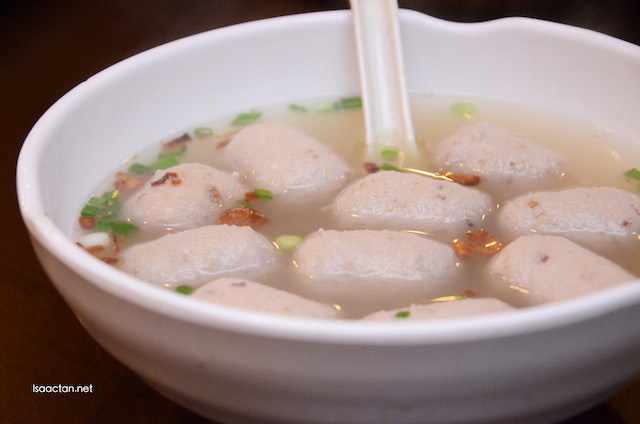 Pork Ball Soup (RM2/pcs)