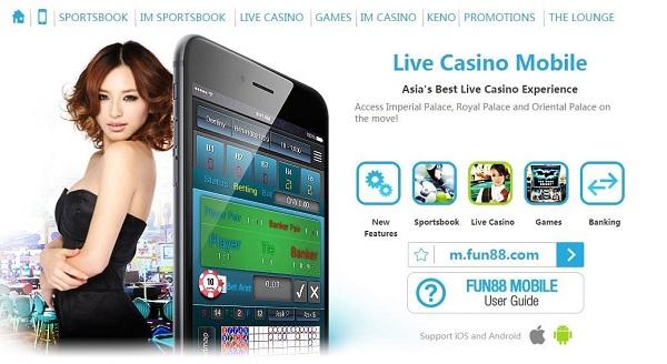 Fun88 cung cấp hầu hết các trò chơi cá cược và đánh bài online