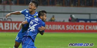 Persib Bandung Menang 2-1 atas Bhayangkara Surabaya United FC