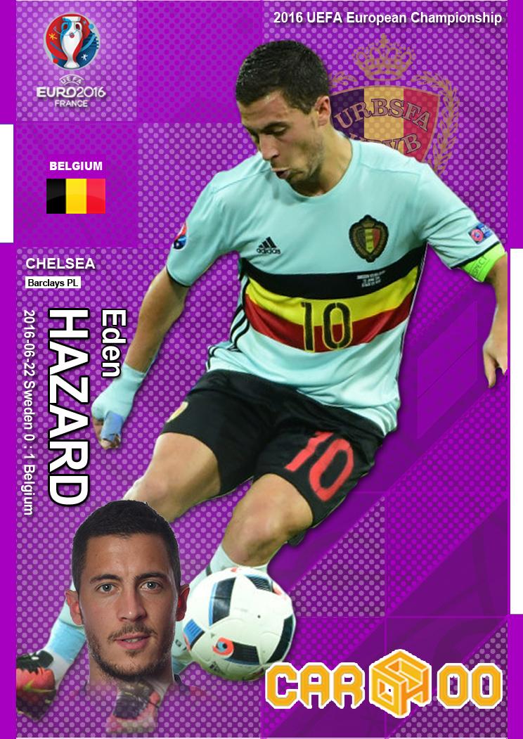 6863c3eee 2016 UEFA European Championship Man of the Match Cardhoo (Kahu) China 51  cards