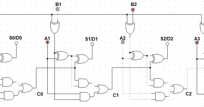 2 bit magnitude comparator logic diagram let's learn computing: 4 bit adder/subtractor circuit #15