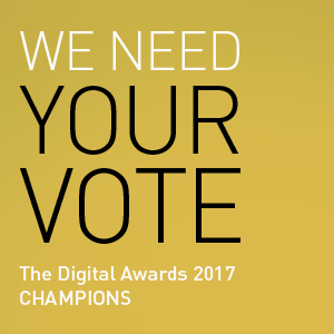 The Digital Awards 2017 Champions - Laban Brown Design Essex