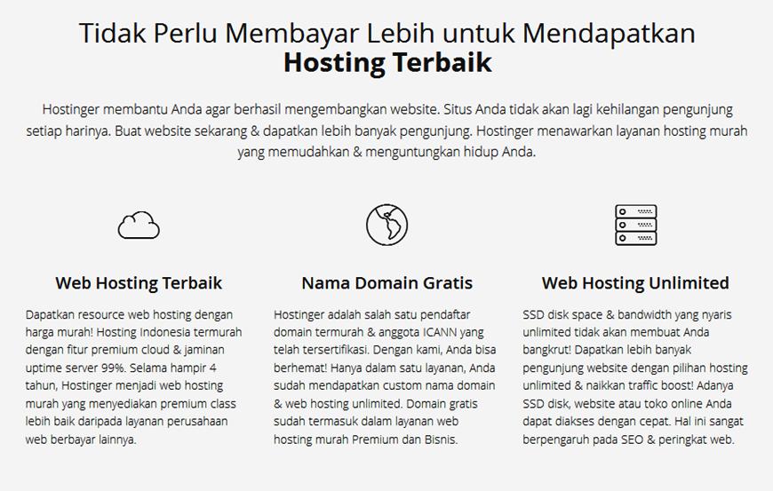 Hostinger Solusi Web Hosting Murah Terpercaya Di Indonesia Wisata Dan Kuliner