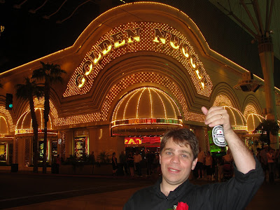 Fremont Street, em Downtown Las Vegas.
