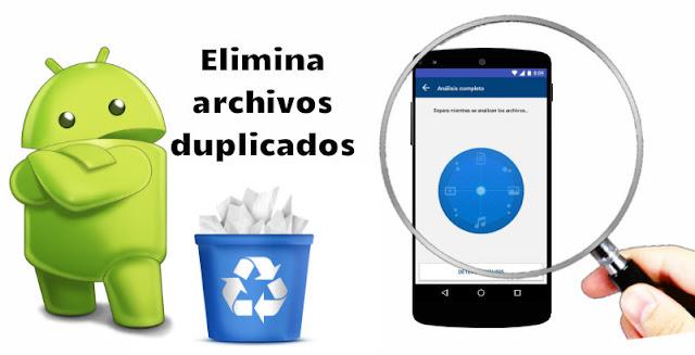 Cómo eliminar todos los tipos de archivos duplicados en Android - Duplicate Files Fixer