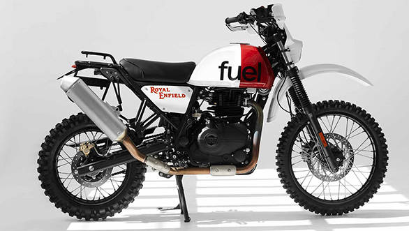 Fuel Motorcycles RE Himalayan
