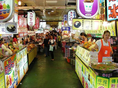 Mercado Nocturno de Shilin - Taipei - Taiwan - que visitar