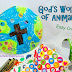 God's World of Animals - Easy Craft for Children - St. Francis Feast Day Fun!