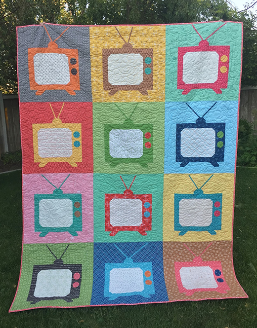 Movie Night Snuggle Quilt Free Tutorial