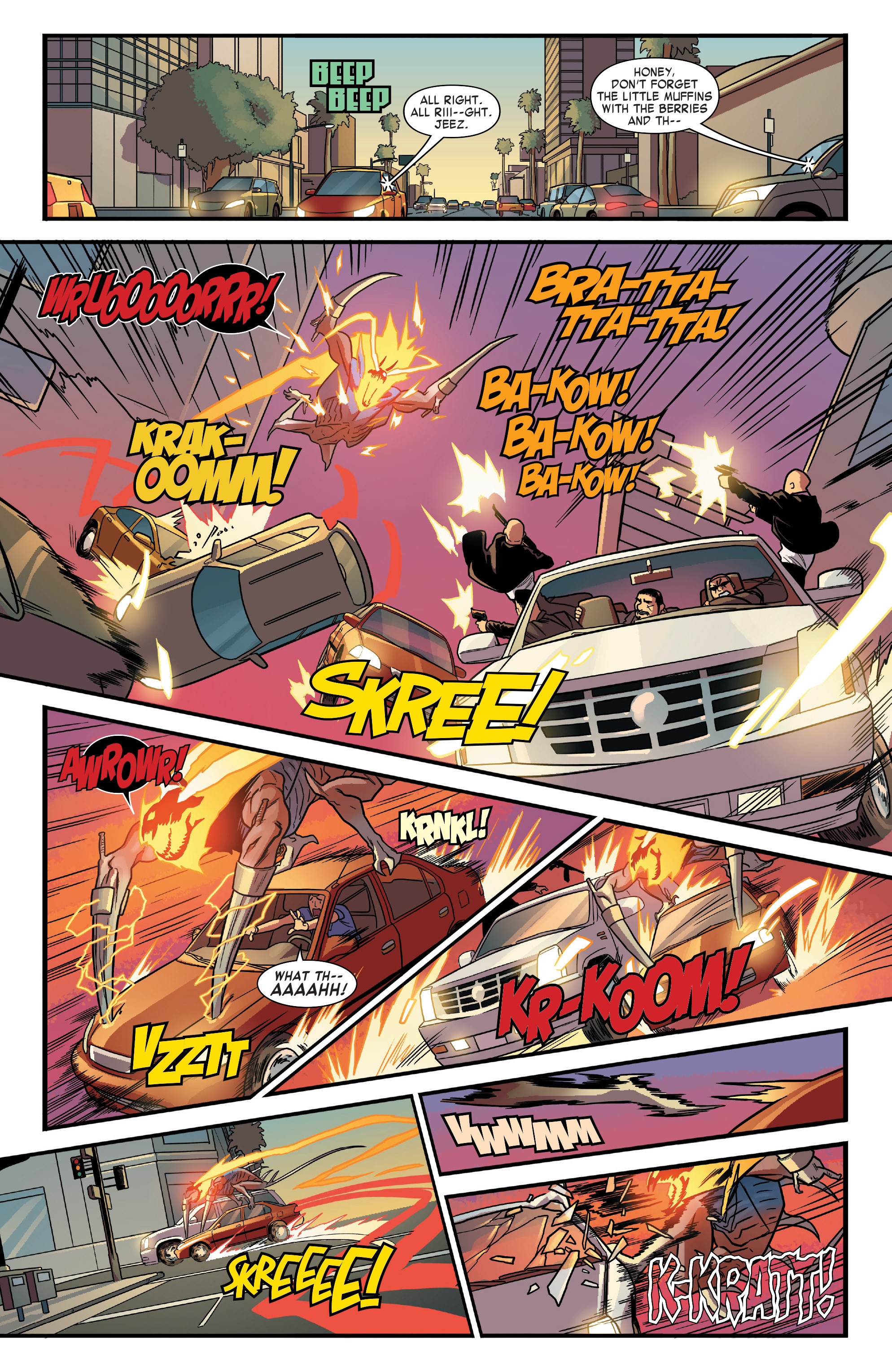 Read online All-New Ghost Rider comic -  Issue #12 - 14