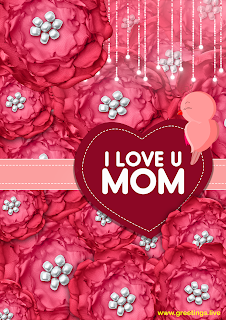 i love u mom birds happy mothers day greetings
