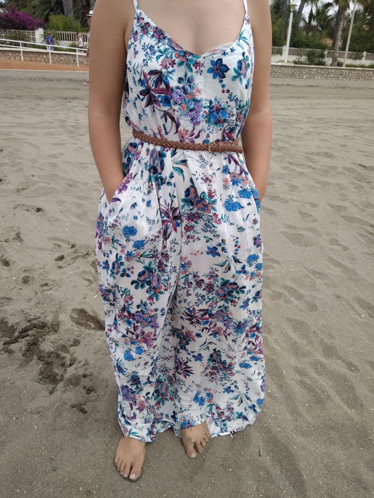 Flor 2 mi vestido azul