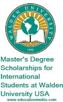 Master Degree USA Scholarship, Scholarship, International, USA, Walden University, Description, Eligibility Criteria, Method of Applying, Application Deadline,