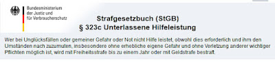 http://www.bussgeld-info.de/unterlassene-hilfeleistung/