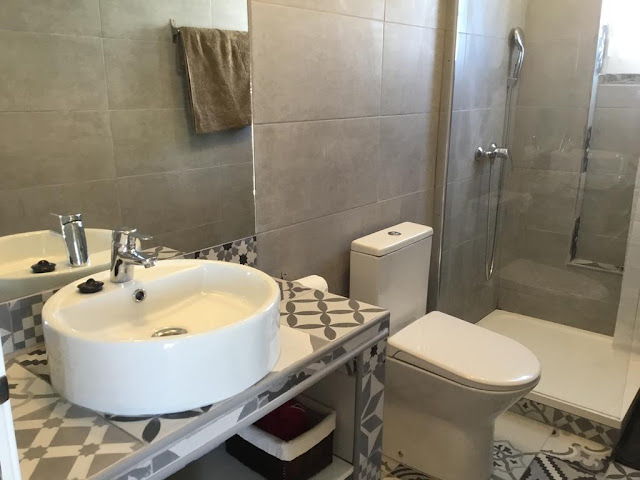 Banheiro do Cosy and Romantica Flat em Tavira - Algarve
