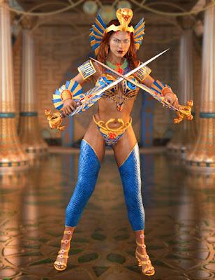 Warrior Goddess for Genesis 3 Female(s)