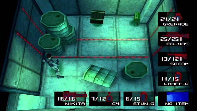 Metal Gear Solid - PSX - Captura 4