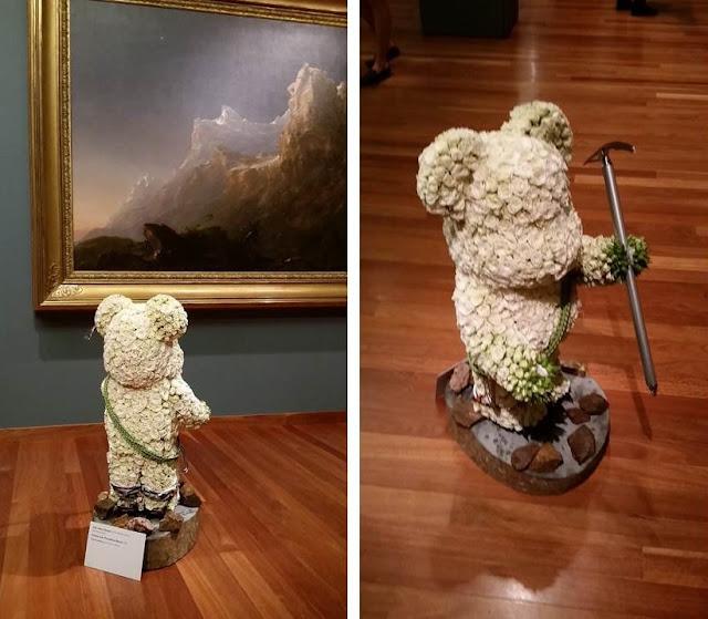 Bouquets to Art John Andrew James