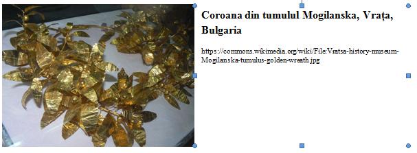 Coroana Mogilanska Bulgaria
