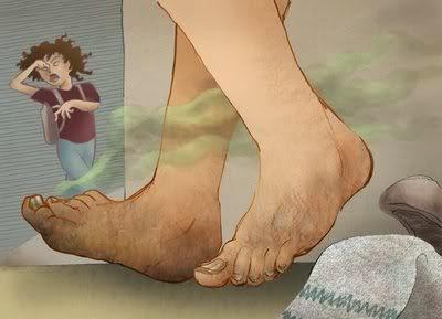 Cara Untuk Mencegah Bau Kaki