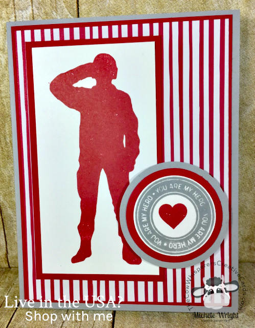 Card, Loyal & True, Valentine, Military
