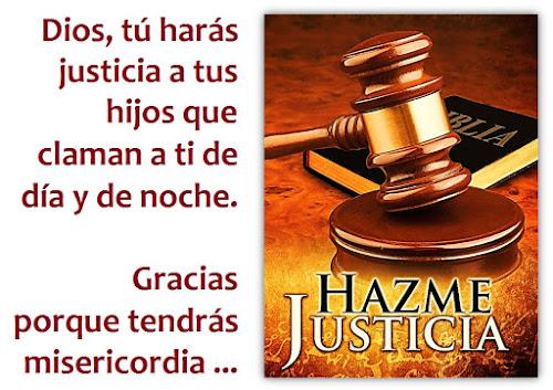 Oración de Justicia Divina