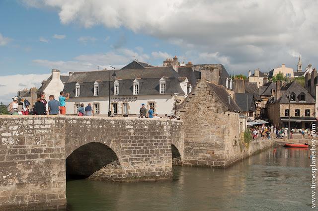 Auray Bretaña Francia viaje turismo