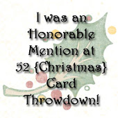 mention honorable chez 52 {christmas} card