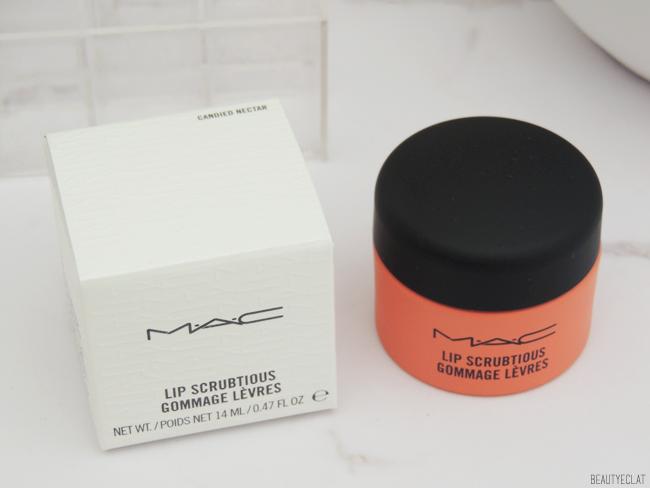 revue avis test mac lip scrubtious gommage exfoliant levres
